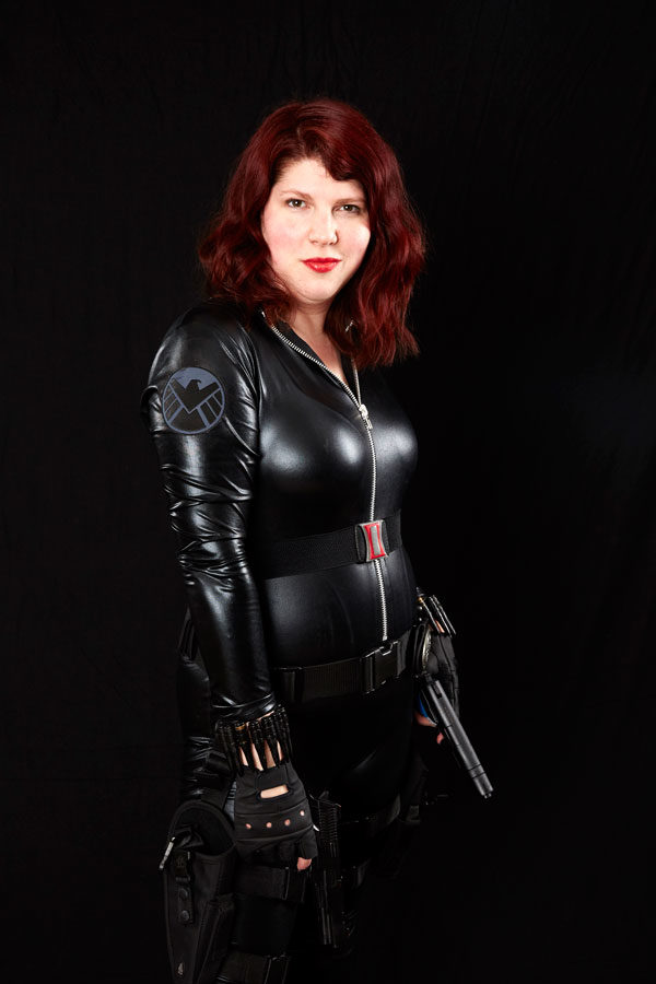 Black Widow by Wilde Cosplay to showcase belt template
