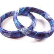 Peacock Bangle Bracelets by Wilde Designs