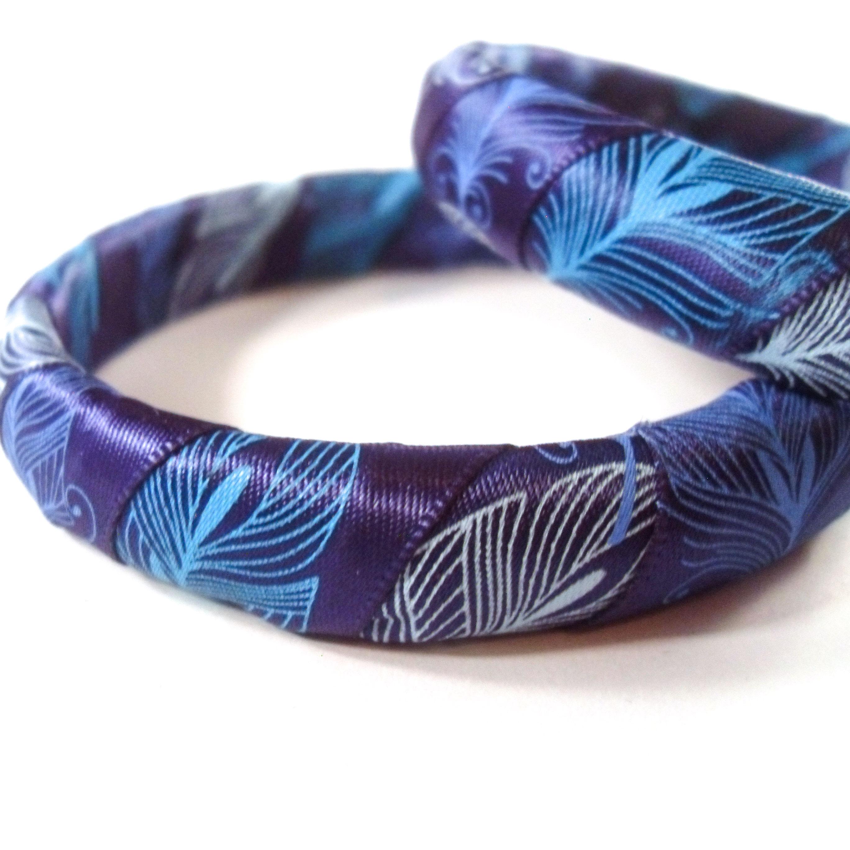 Peacock Bangle Bracelets