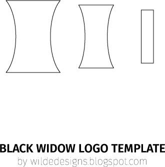 BlackWidow_logotemplate_byWildeDesigns