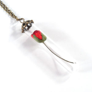 Beauty and the Beast Necklace by Wilde Designs