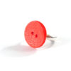 Red Button Ring by Wilde Designs