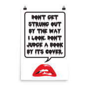Don't Judge a Book Poster