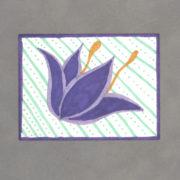 Wallflower Art Card By Wilde Designs