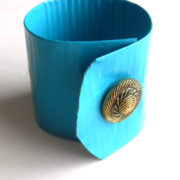 Teal Duct Tape Cuff Bracelet by Wilde Designs