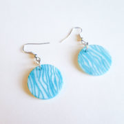 Carved Shell Earrings by Wilde Designs