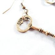 Sherlock 221B Baker Street Earrings by Wilde Designs