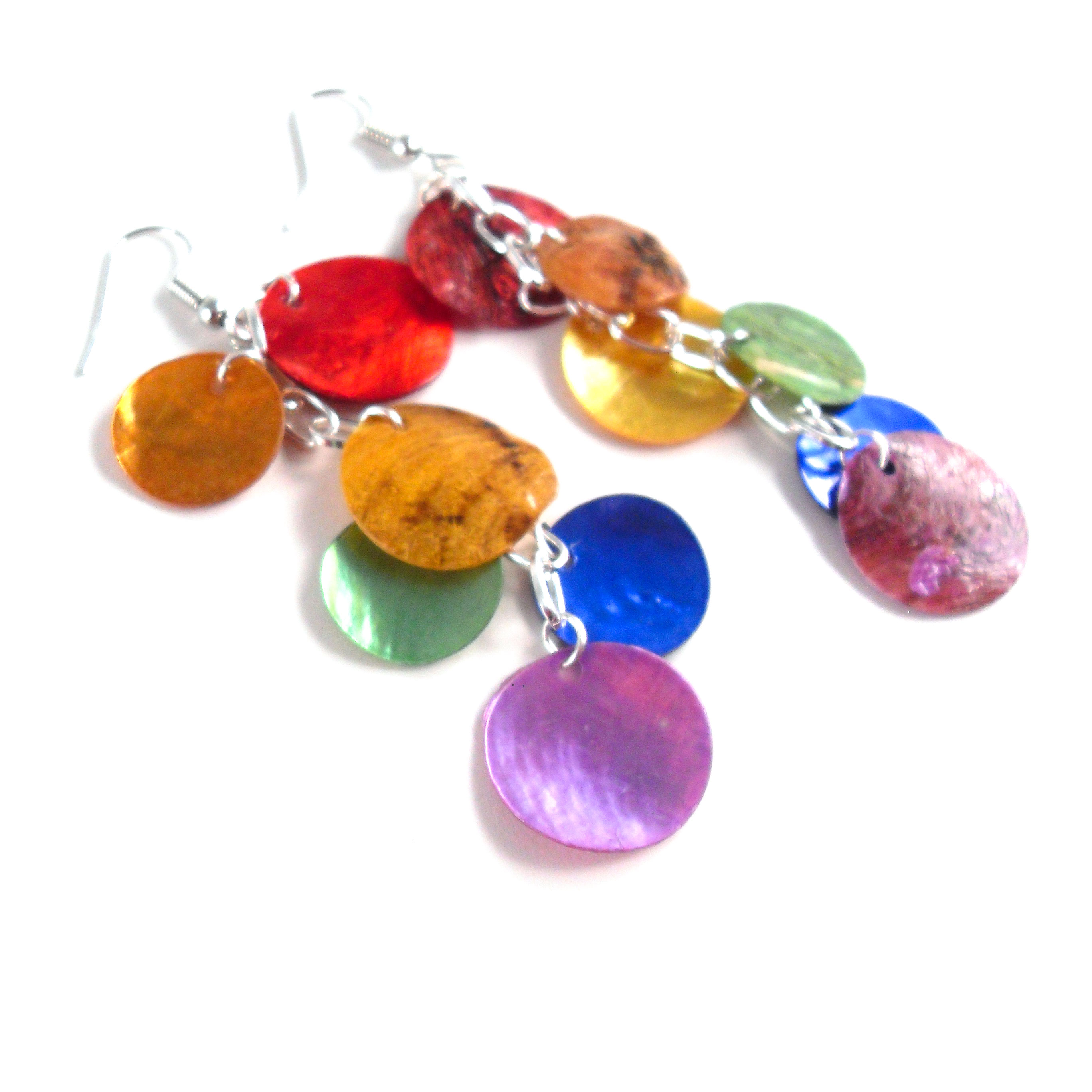 Love Wins Mythical Scale Earrings by Wilde Designs