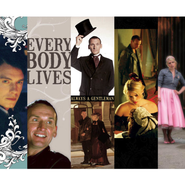 Ninth Doctor Bookmarks by Wilde Designs