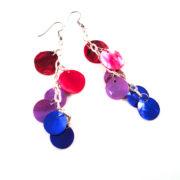 Love Wins Bisexual Pride Earrings by Wilde Designs
