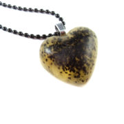Glittery Heart Necklaces by Wilde Designs