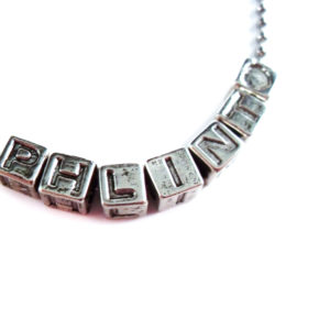 Phlint Geeky Word Necklace by Wilde Designs
