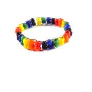 Rainbow Bead Ring Set by Wilde Designs