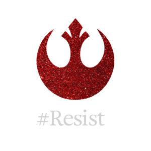 Rebellion #Resist Wallpaper by Wilde Designs