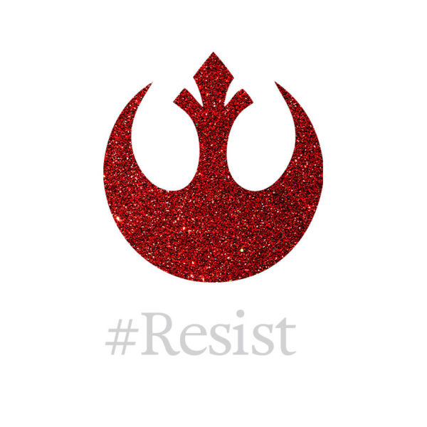 Rebellion #Resist Wallpaper by Wilde Designs