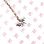 Dainty Silver Unicorn Necklace by Wilde Designs