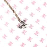 Dainty Silver Unicorn Necklace by Wilde Designs