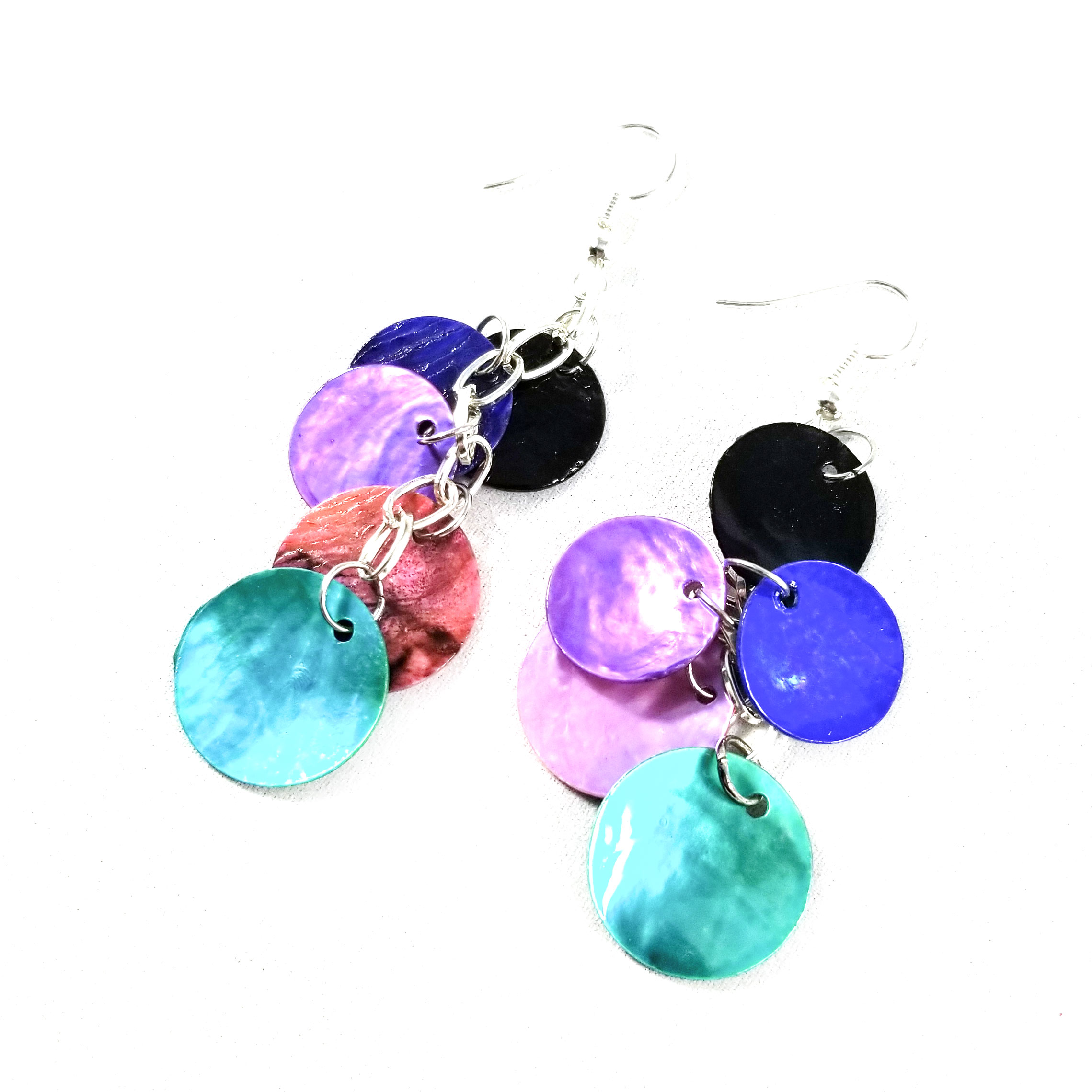 Galaxy Dragon Scale Earrings