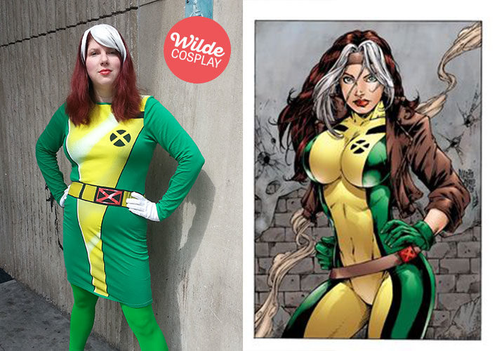 Wilde Cosplay as Rogue from X-Men