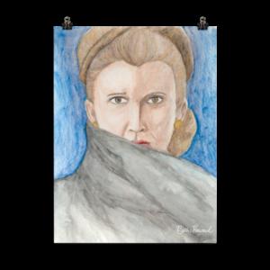 General Leia Organa Poster