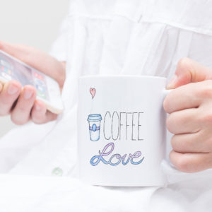 Coffee Love Mug by Wilde Designs