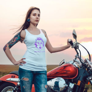 Retro B*tch Tank Top by Wilde Designs