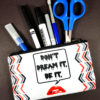 Don't Dream It Be It Accessory Bag by Wilde Designs