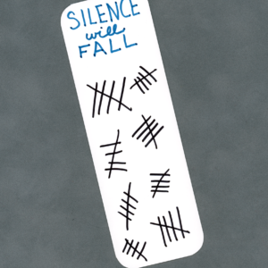 Silence Will Fall Bookmark by Wilde Designs