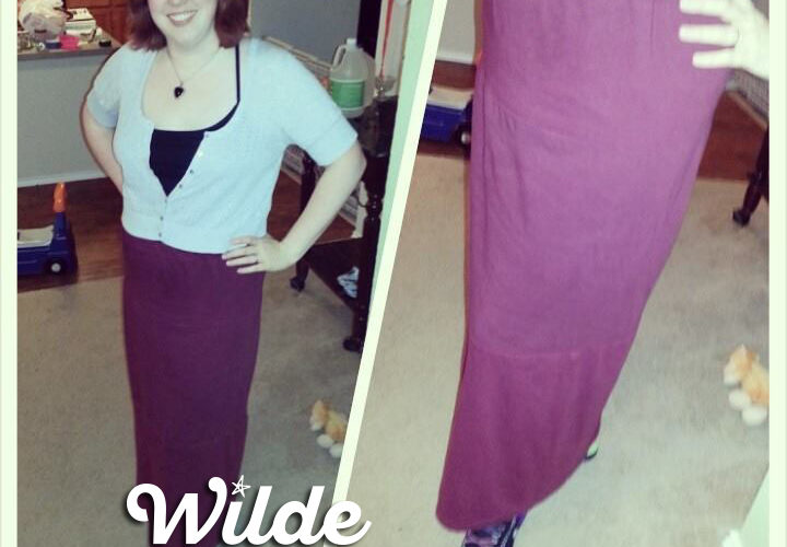 DIY T-Shirt Skirt by Wilde Designs