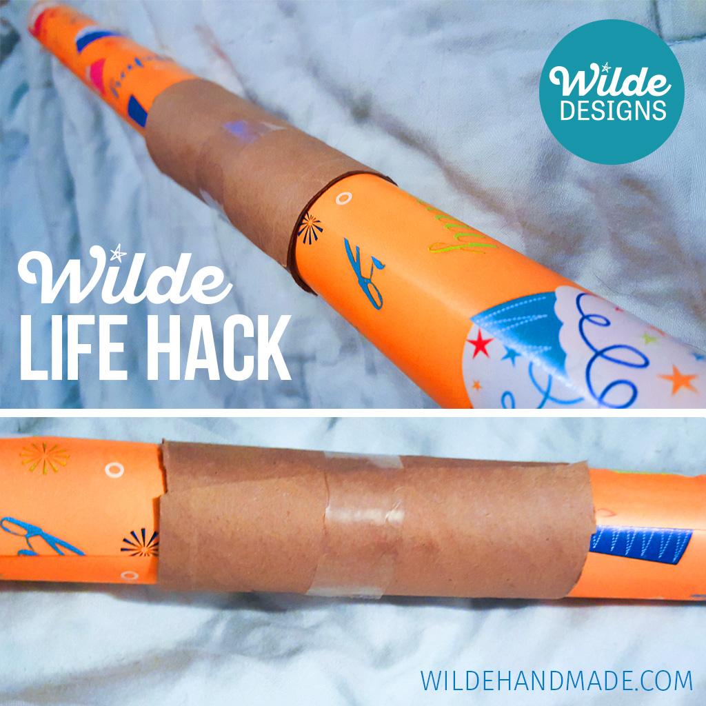 Wilde Life Hack - World's Best Gift Wrap Holder