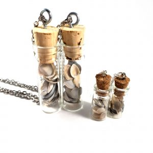 Mermaid Dreams Bottle Necklace by Wilde Designs