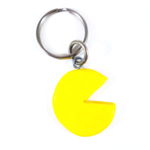 Retro Arcade Gamer Keychain by Wilde Designs
