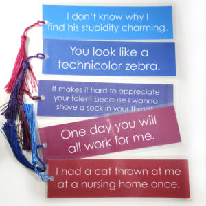 Kurt Hummel Quote Bookmarks by Wilde Designs