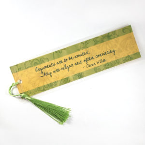 Oscar Wilde Bookmarks by Wilde Designs